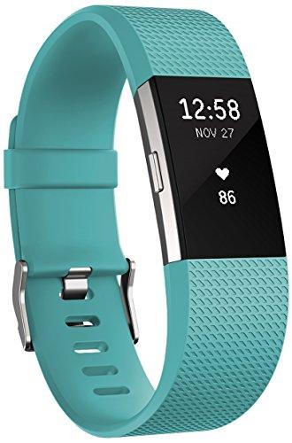 Fitbit Charge 2 Standard Bracelet d'activité et de suivi de la fréquence...