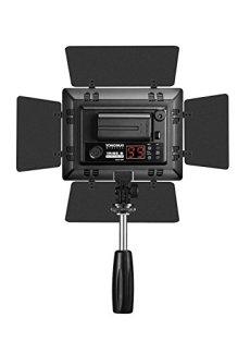 Yongnuo YN160 III - Lámpara LED para iluminación fotográfica (192 LED, 5500k), color negro