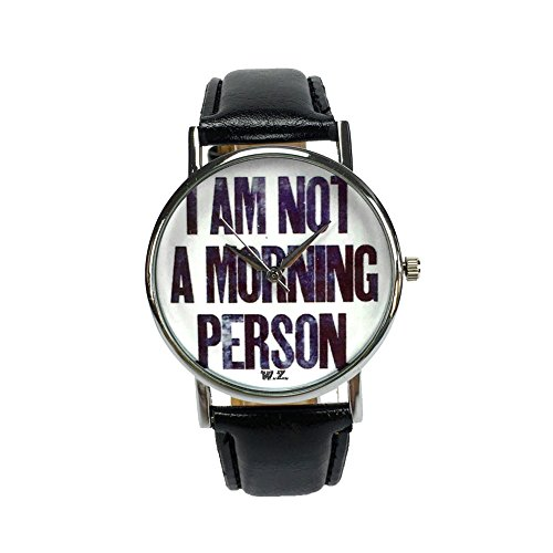 Woodstock Zambon - Orologio'I'm not a morning person'