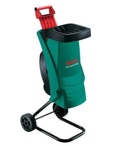 Bosch Häcksler AXT Rapid 2200 (2200 Watt, Materialdurchsatz 90 kg/h, max. Schneidekapazität-Ø 40 mm, im Karton)