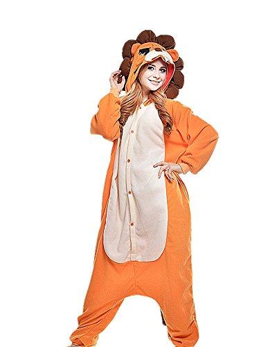SAMGU Tier Onesie Pyjama Cosplay Kostüme Schlafanzug Erwachsene Unisex Animal Tieroutfit tierkostüme Jumpsuit