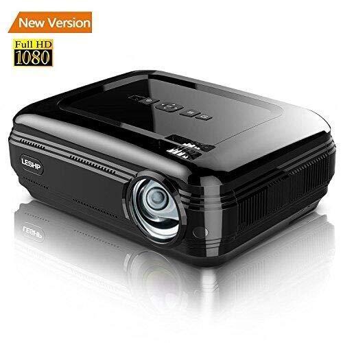 3200 Lumen Proiettore LCD Full HD, LESHP LED + LCD Home theater Videoproiettore 1280 x 1920...