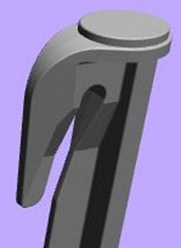 genisys Ganchos estacas para robot cortacésped Juego de accesorios para fijación para limitación Cable suchk Abel Cable Soporte Gardena Bosch Husqvarna Worx Honda Robomow imow