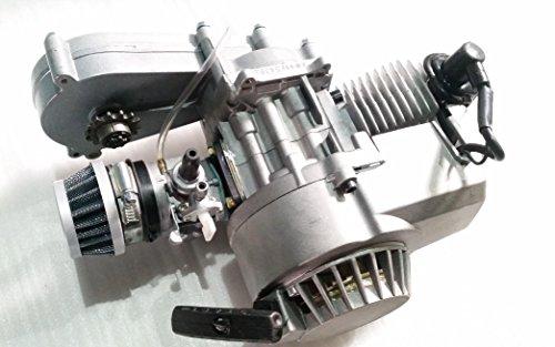 Completo 49cc 2tempi monocilindrico motore trasferimento box Minimoto mini Dirt Bikes
