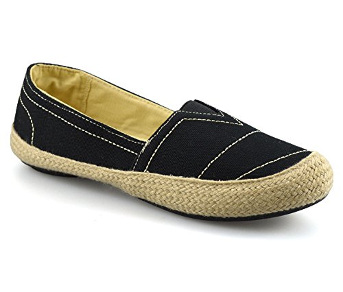 126bb45db23 Mootsies Tootsies Ladies Womens Flat Slip on Canvas Pumps Plimsolls Trainers  Espadrilles Shoes - SixtySomething - Over Sixty Lifestyle Magazine