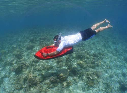 POWERBREATHER AMEO Adventure - Set Snorkel (Grigio) - 100% Aria Fresca, Nessuna respirazione a Pendolo Grazie alla Tecnologia brevettata delle valvole