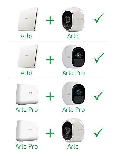 416LUwGov4L [Bon Plan Smarthome!]  Netgear - VMS4130-100EUS - Arlo Pro -  Pack de 1 Caméra, Smart caméra HD 720p, grand angle 100% Sans Fils - avec ba...