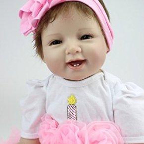 ZIYIUI 55 cm Realistic Reborn Baby Muñecos Bebé 22