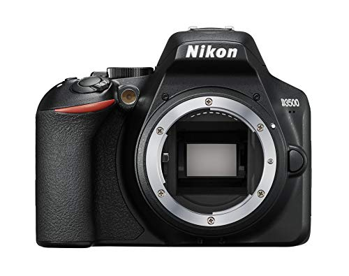 Nikon D3500 + AF-P 18-55 Kit fotocamere SLR 24,2 MP CMOS 6000 x 4000 Pixel Nero