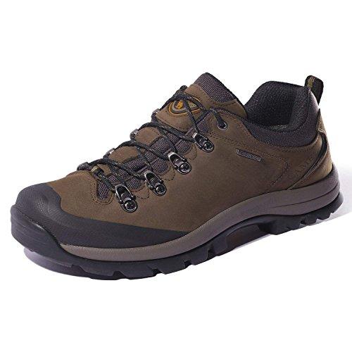 CAMEL CROWN Zapatos de Trekking al Aire Libre Low-Top Zapatillas de Deporte al Aire Libre Antideslizantes para Caminar Zapatos de Hombre