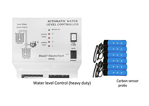 Blackt Electrotech: Fully Auto Water Level Controller with Sensor for Overhead & Sump Tank (BT21CS)