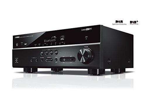 """Yamaha RX-D485 BLACK \""""5.1 MusicCast\"""" AV-Receiver mit Wi-Fi, Bluetooth und DAB Tuner, Schwarz"""