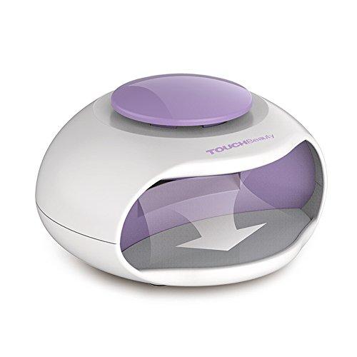TOUCHBeauty TB-0889 Lámpara de LED Ventilador de esmalte de Uñas Secadora de uñas normales para la Manicura, Ventilador Portatil Morado