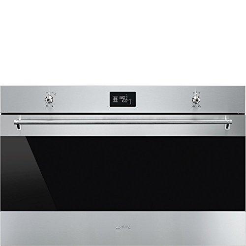 Smeg SF9390X1 Forno elettrico 115L 3100W A+ Nero, Acciaio inossidabile forno