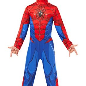 Rubies- Disney Spiderman Disfraz clásico de Spider-Man de Marvel, dibujo animado, Color surtido, Small (Rubie's 640840S)