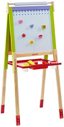 Janod - J07582 - Height Adjustable Black-White Board