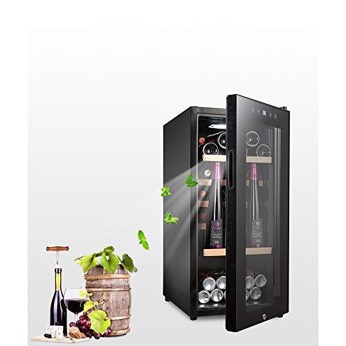 HYYQG Frigorifero per Vino Termoelettrico (86 X 57 X 40 Cm, 41 Bottiglie, 110 Litri, Illuminazione...