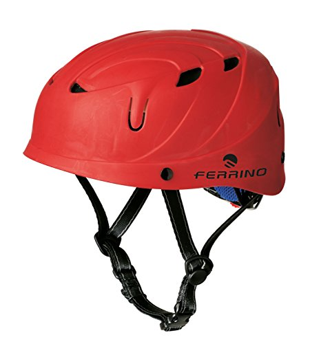Ferrino Dragon - Casco de Escalada, Color Rojo, Talla Taglia Unica(46-61 cm)
