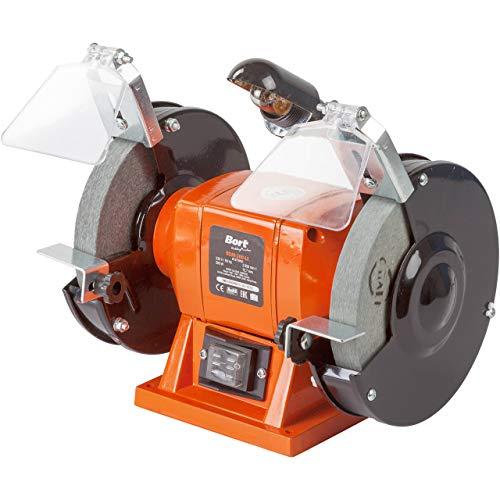Doppelschleifer Bort BDM-200-Lt, Schleifscheiben Ø x Dicke x Bohrung 150 x 16 x 12,7 mm, 200 Watt, 2950 UpM, LED-Arbeitslicht