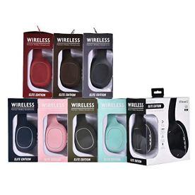 Qoosea-Auriculares-Bluetooth-plegables-auriculares-inalmbricos-con-banda-para-el-cuello-con-Bluetooth-y-micrfono-incorporado-42-Auriculares-estreo-con-auriculares-retrctiles-para-iPhone-Sumsung-Sony-H
