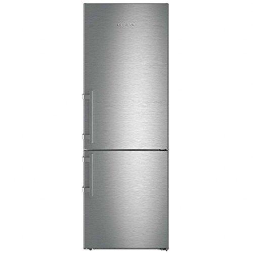 Liebherr CNef 5715 frigorifero con congelatore Libera installazione Argento 402 L A+++