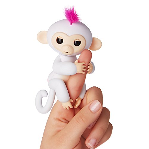 WowWee Fingerlings Bianca Sophie, Mini Scimmietta Robotica Interattiva
