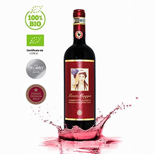 Chianti Classico di Montemaggio - Vino Toscano Biologico Chianti Gallo Nero - DOCG - Fattoria di Montemaggio - Annata 2013-0.75L