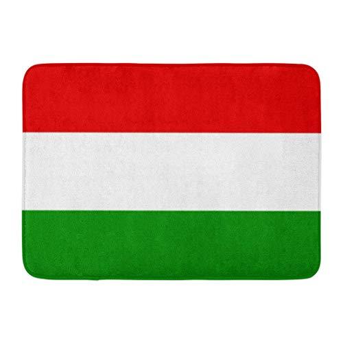 Kinhevao Tappetino da Bagno Bandiera Ungherese Ungherese Budapest Magyarorsz \u0026 aacute; g...