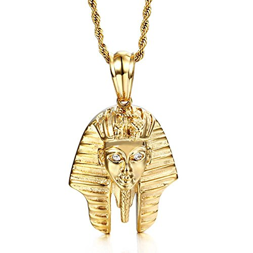 Collar de acero inoxidable Faraón