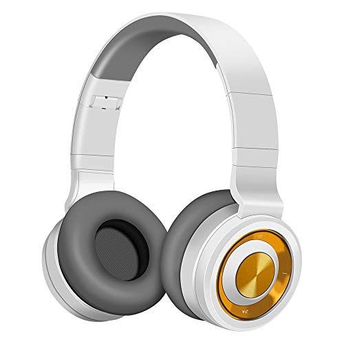 Bluetooth Cuffie Alitoo, Senza Fili Headphones Pieghevole Auricolari Wireless Over Ear Cuffie con...