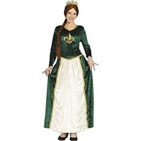 Disfraz de reina medieval adulta talla M (38-40)