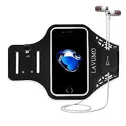 Kaufen Handytasche Sport iphone X 6 Plus 7 Plus 8 Plus Sportarmband Handyhülle LAVUMO Running Armband für Samsung Galaxy S8 S9 S7/S6/S6 Edge/S7 edge/S5/S9 plus joggen Laufen Gym Armtasche Wasserfeste Schlüsseltasche & Geld
