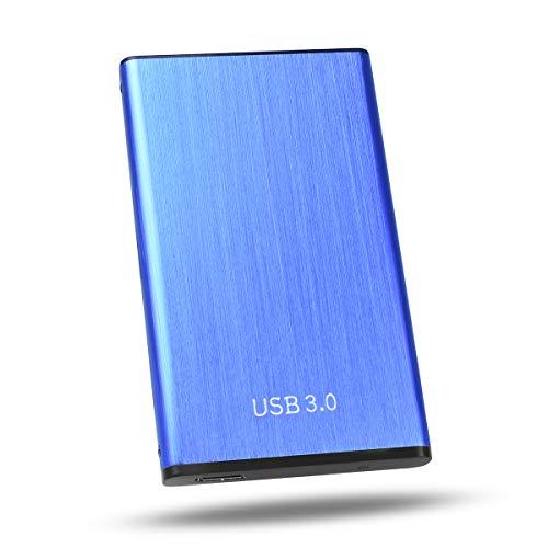 KINWIND Hard Disk 2TB Esterno,Hard Disk Esterno 2,5' USB3.0 SATA HDD Storage per PC, Mac, Desktop,...
