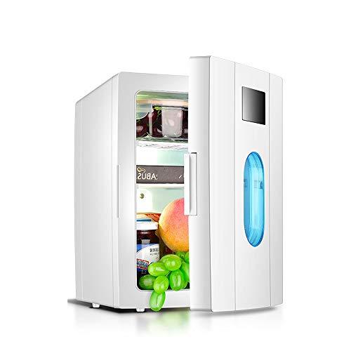 NYGJMNBX Mini Frigo Portatile Compact Frigo Personale Fresco Include Tappi per Presa di Corrente e...