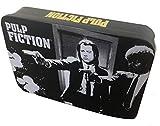 Pulp Fiction - Vincent & Jules - Oficial Cartera en Lata de Regalo - Negro, OS