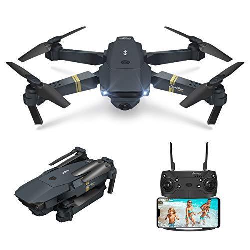 EACHINE Drone con Telecamera, E58 Pieghevole Drone con WiFi FPV HD 720P App Mobile Controllo...