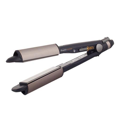 BaByliss iPro 230 iCurl - Alisador y rizador de pelo profesional con recurbimiento de ceramica, temperatura 180 o 230ºC