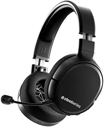 SteelSeries Arctis 1 Wireless – Wireless Gaming Headset – USB-C Abnehmbares – Clearcast Mikrofon – für PC, PS4, Nintendo Switch, Android