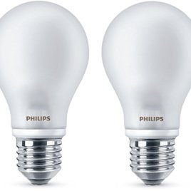 Philips – Ampoule LED Classic A60 E27 WW 230V FR ND 2BC/6