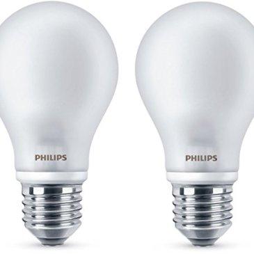 Philips – Ampoule LED Classic A60 E27 WW 230V FR ND 2BC/6