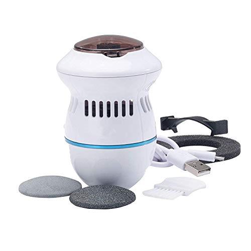 Der Beste Elektrischer Hornhautentferner,YUKAKI Elektrischer Hornhautraspel Fußpflegemaschine Automatisches Peeling Schleifen Dead Skin Machine für Füße und Hände Fußfeile