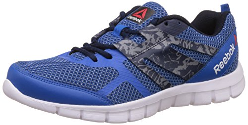 Reebok Men's Speed Xt Running Shoes, Blue, Navy, Grey and White - 10 UK/India (44.5 EU)(11 US)