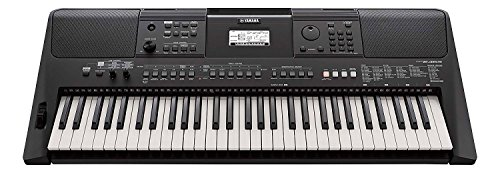 Yamaha PSRE463 61-Key Portable Keyboard (Black)