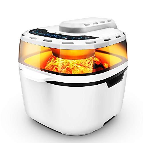Kuan-Air fryer Friggitrice ad Aria, Smart WiFi Friggitrice ad Aria, per Uso Domestico, Senza Fumo,...