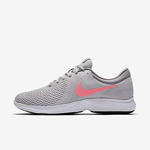 Nike Damen Wmns Revolution 4 Eu Laufschuhe, Grau (Pure Platinum/sunset Pulse/wolf Grey/black), 39 EU
