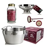 Kilner 9 Piece Preserve Starter Kit - for Making Jam or Chutney