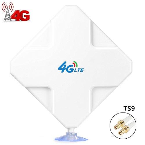 TS9 4G LTE Antenna alte Prestazioni 35dBi. Amplifica il Segnale Ethernet con Funzione di Ripetitore....