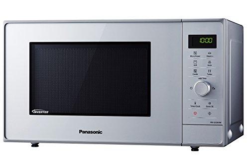 Panasonic NN-GD36HMSUG Forno a Microonde Combinato con Grill e Cottura a Vapore Silver