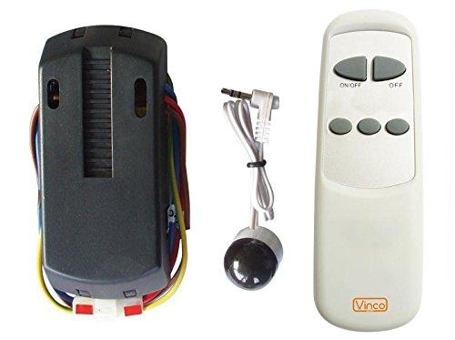 Kit Telecomando Universale Vinco per Ventilatori a Soffitto, 3 Velocità delle Pale, ON/OFF Luce...