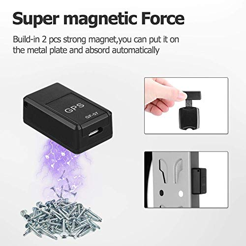 Asleesha GF07 Spy Tracker Car Device GSM GPRS Mini Car Magnetic GPS Anti Lost Recording Real Time Tracking Device